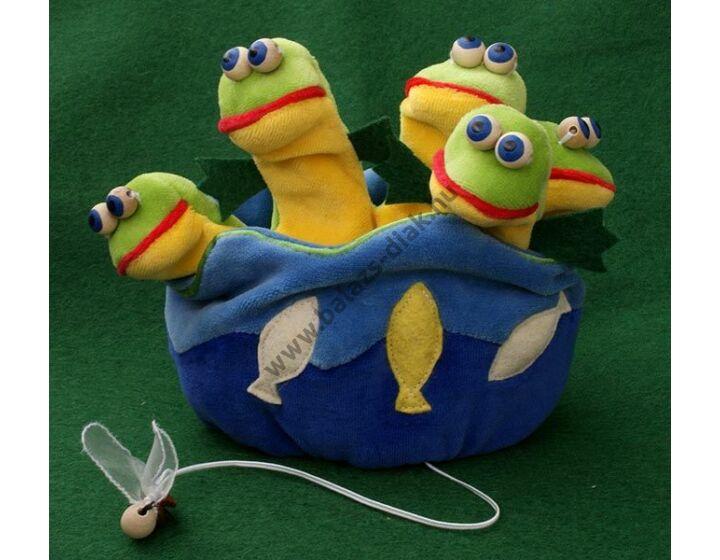 Ötujjas báb: békás tó - gyerek kézre