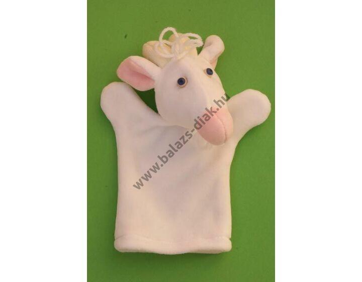 Háromujjas báb: kecske - gyerek kézre