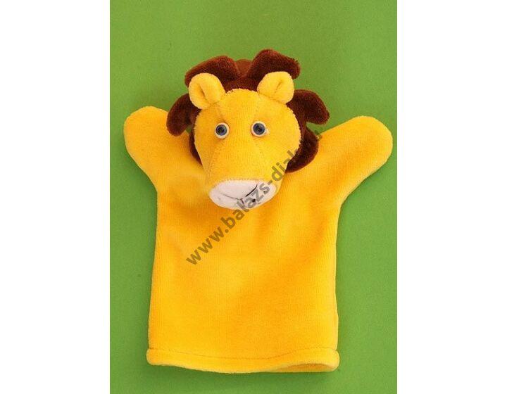 Háromujjas báb: oroszlán - gyerek kézre