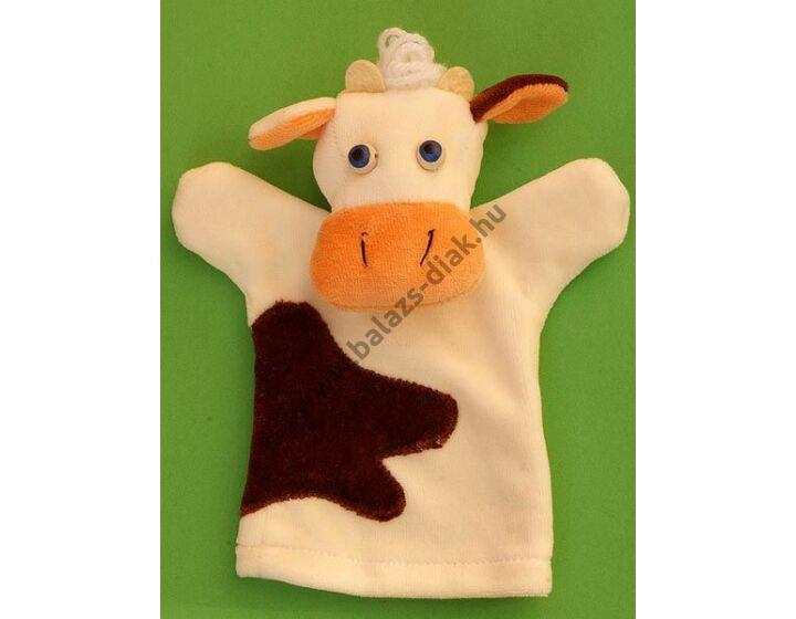 Háromujjas báb: tehén - gyerek kézre