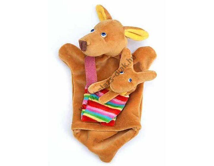 Háromujjas báb: kenguru - gyerek kézre