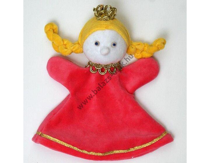 Háromujjas báb: királylány - gyerek kézre
