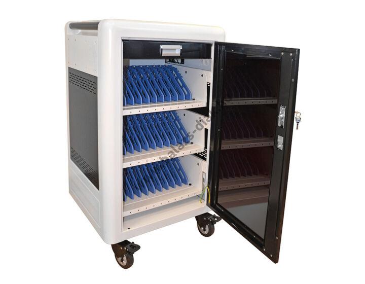 Mobil tablettöltő szekrény - 30 tablet tárolására