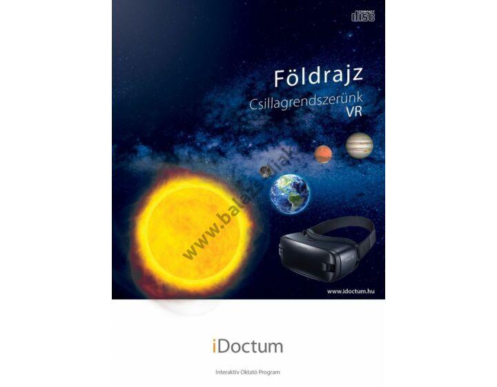 iDoctum - Földrajz: Csillagrendszerünk VR - virtuális valóság 3D karton szemüveggel