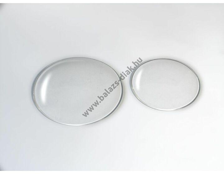 Óraüveg 80mm átmérő