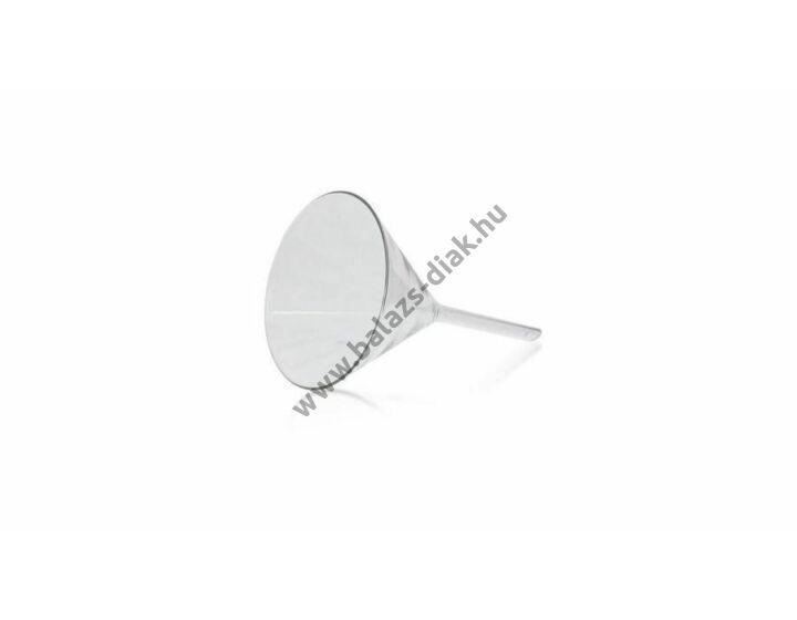 Üvegtölcsér 80 mm