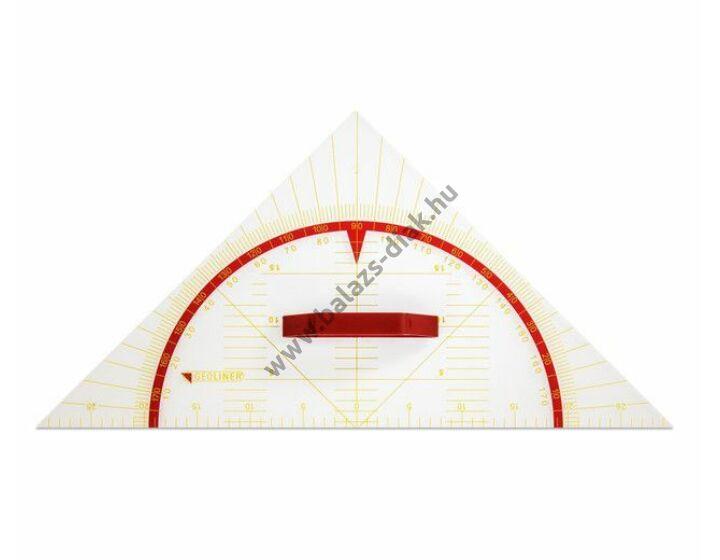 Derékszögű vonalzó 60 cm