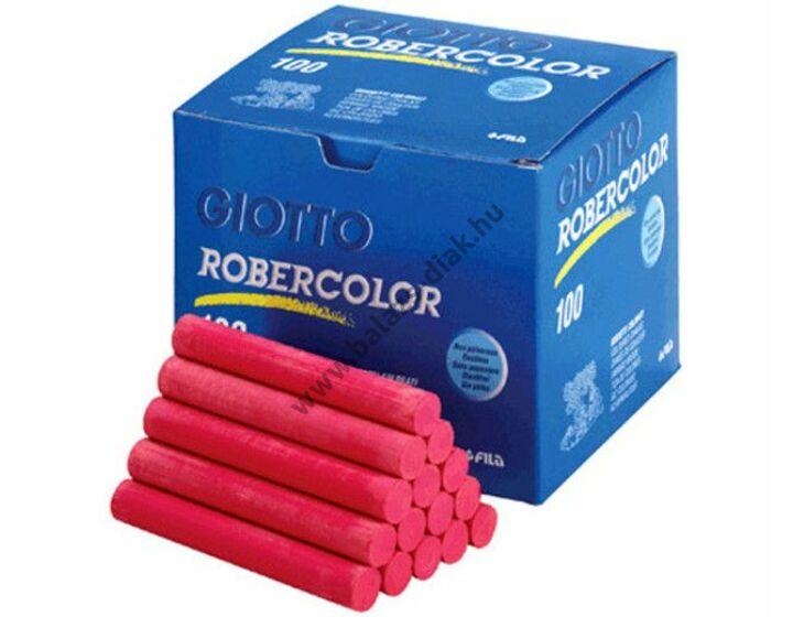 Pormentes színes kréta piros robercolor