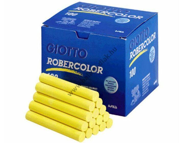 Pormentes színes kréta sárga robercolor