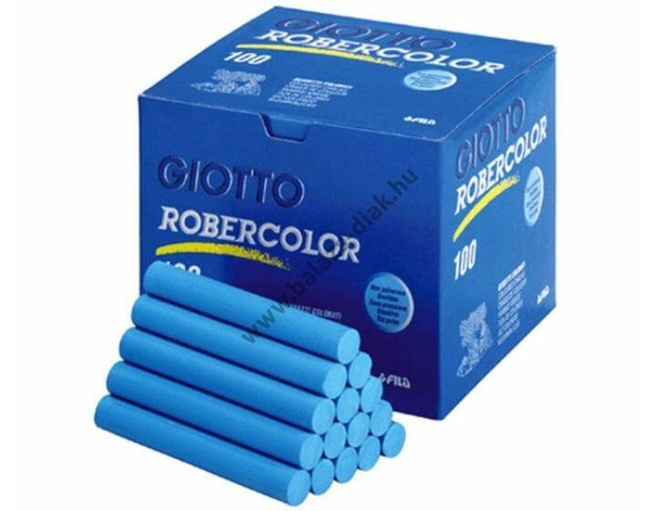Pormentes színes kréta kék robercolor