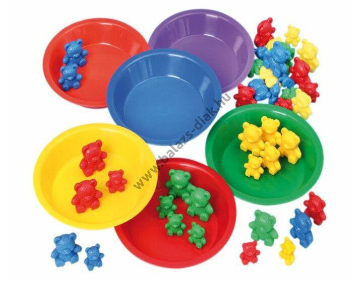 6 szortírozó tányér