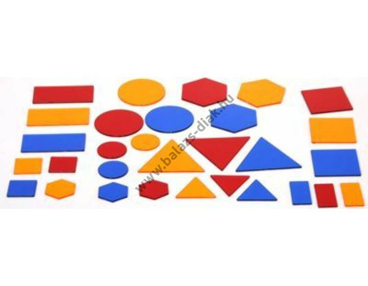 Műanyag geometriai formák