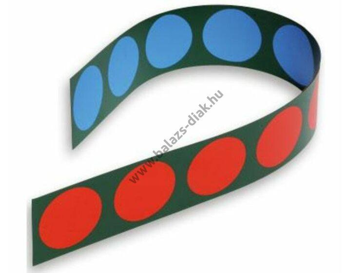 Táblai mágneses korongcsík