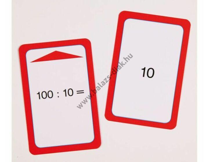 Osztás I. feladatkártyák a Csodakalaphoz