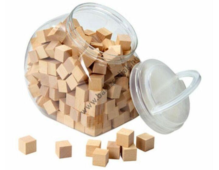 Cubo fakockák, 150 db, 2 cm