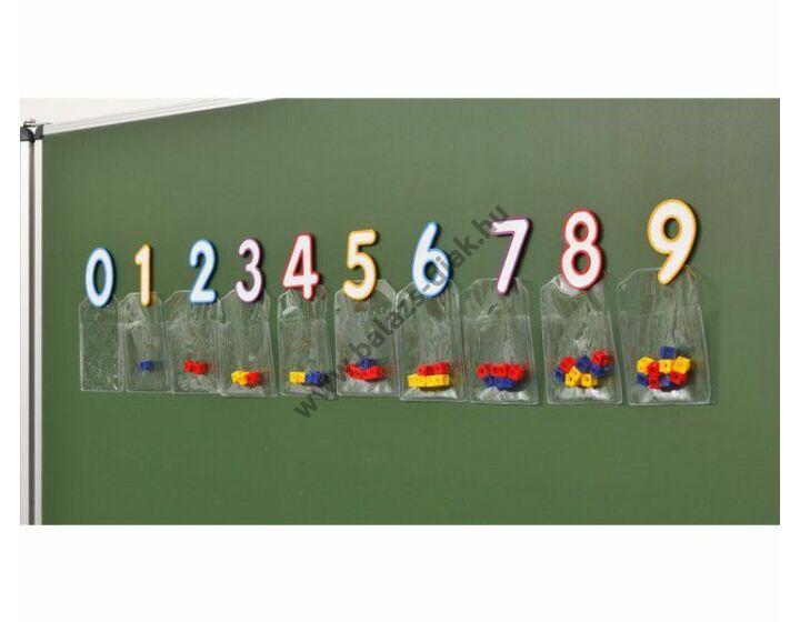 Mágneses számok 11,5 cm