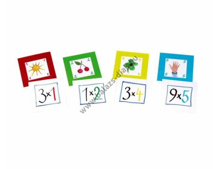 Feladatkártyák a zsebes kockához Szorzótábla 6-10-ig