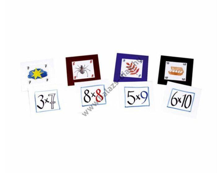 Feladatkártyák a zsebes kockához Szorzótábla 1-5-ig