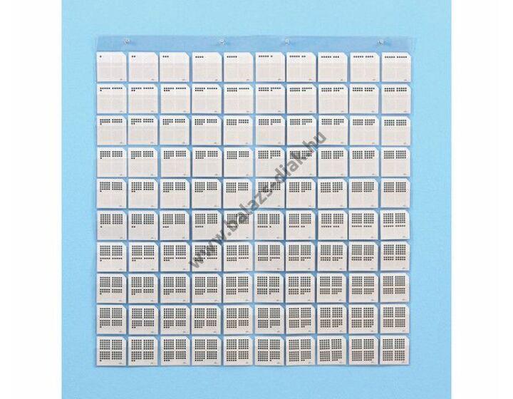 Mennyiségek - kártyák zsebes tárolóhoz