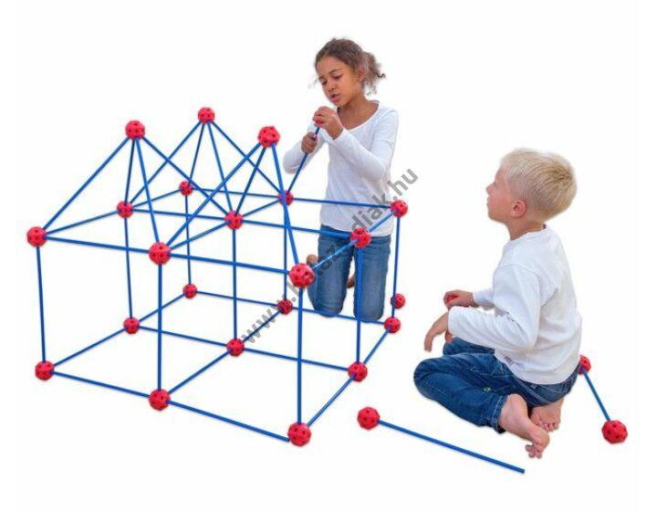 Óriás geometriai építőkészlet