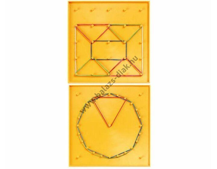 Geoboard B -geometriai muanyag tábla