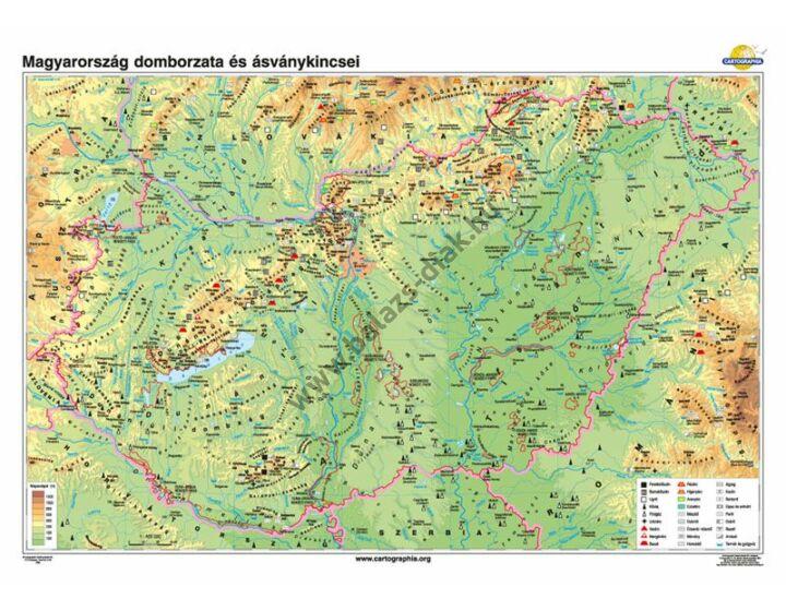 Magyarország domborzata és ásványkincsei