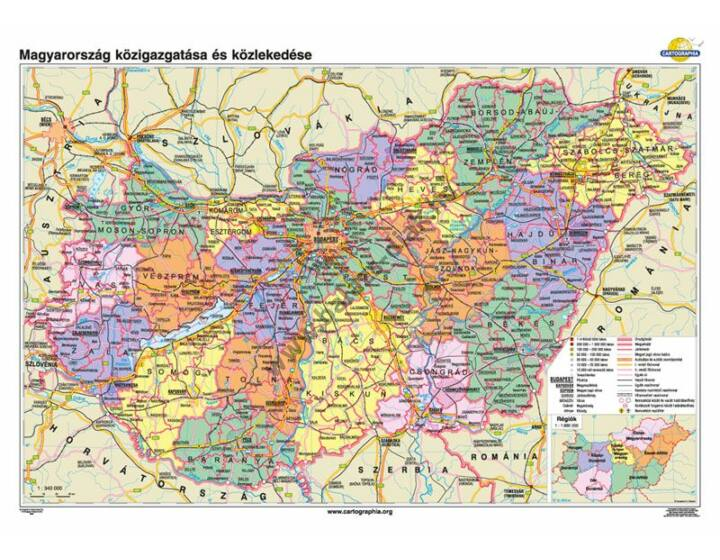 Magyarország közigazgatása és közlekedése