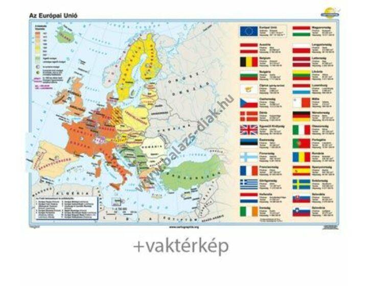 Az Európai Unió + vaktérkép DUÓ