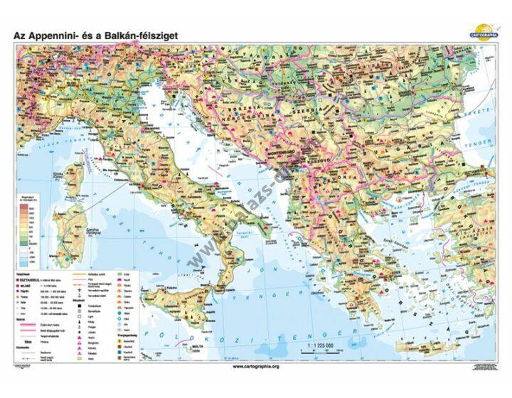 Az Appennini-és a Balkán-félsziget