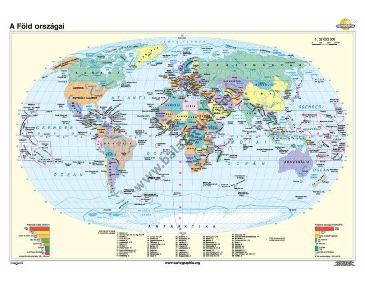 A Föld országai