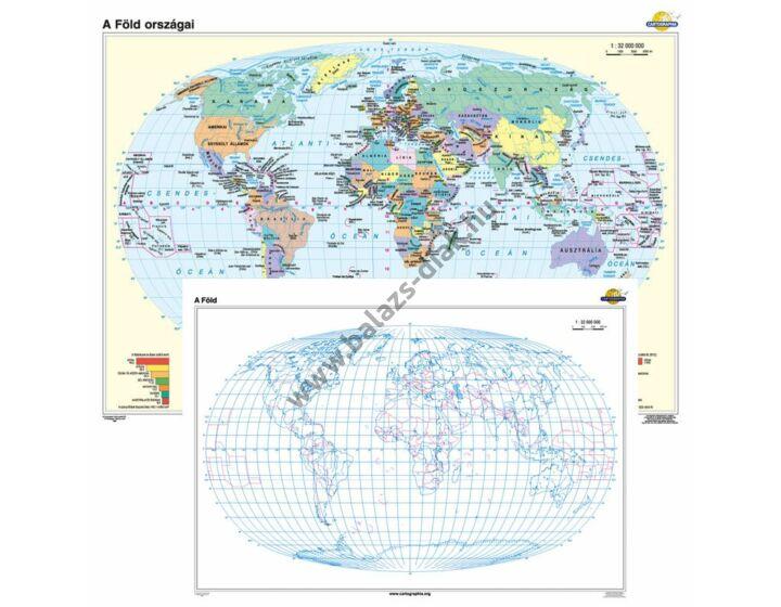 A Föld országai + vaktérkép DUÓ
