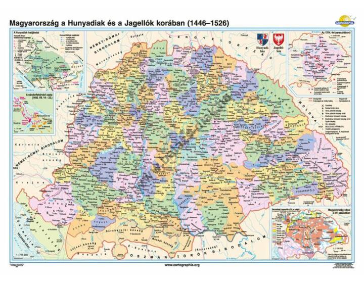 Magyarország a Hunyadiak és a Jagellók korában (1437-1526)