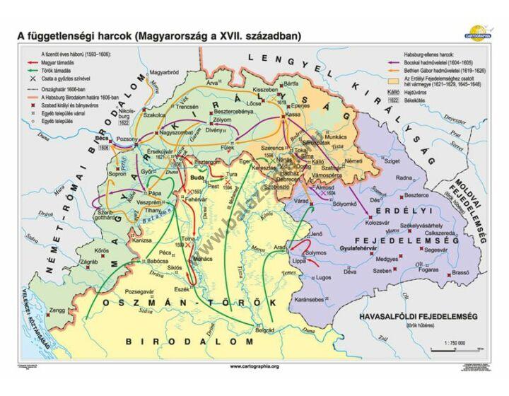 A függetlenségi harcok (Magyarország a XVII. században)