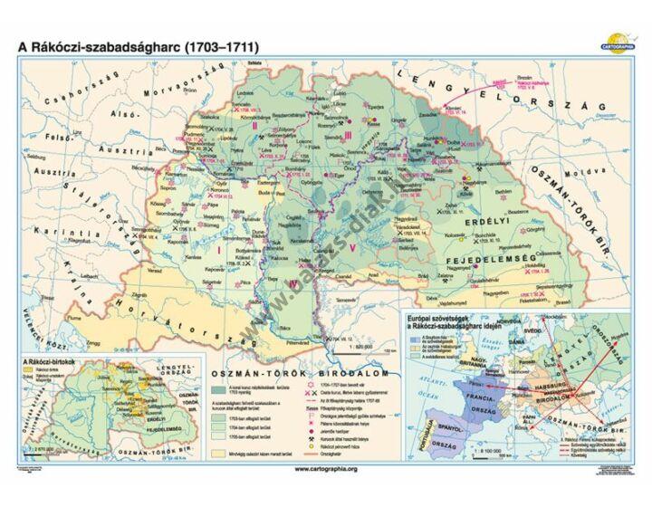 A Rákóczi-szabadságharc (1703-1711)