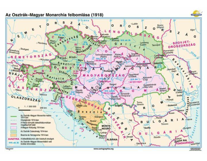 Az Osztrák-Magyar Monarchia felbomlása (1918)