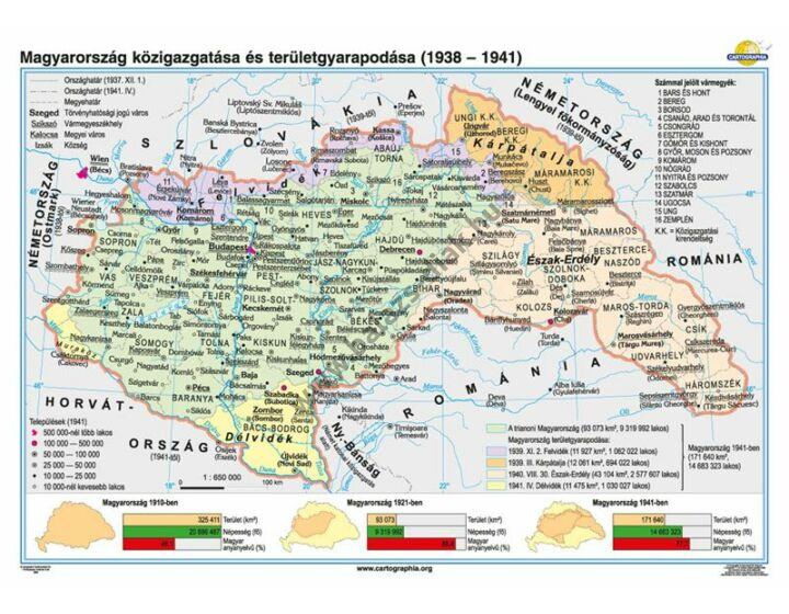Magyarország közigazgatása és területgyarapodása (1938-1941)