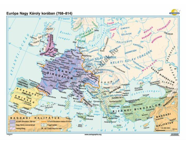 Európa Nagy Károly korában (768-814)