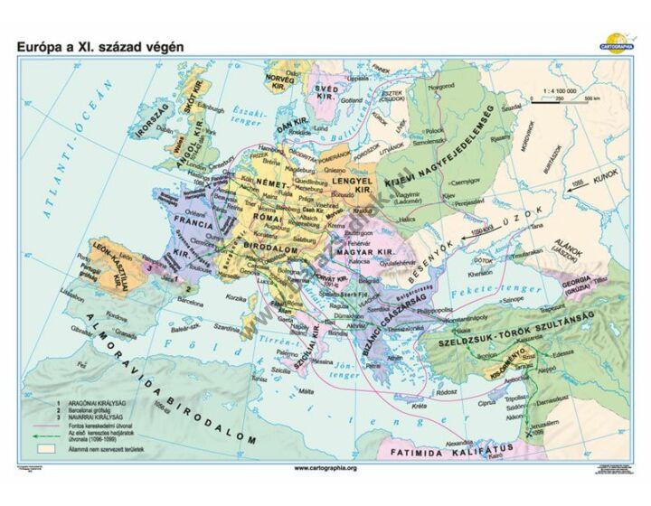 Európa a XI. század végén