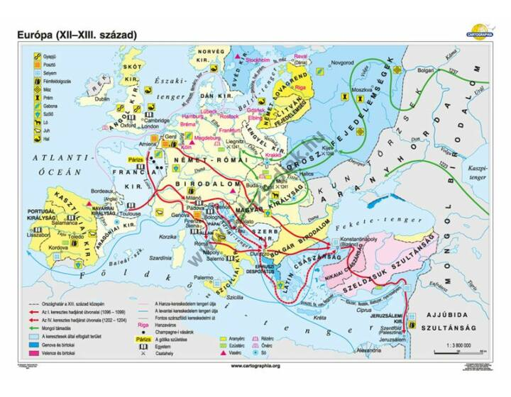 Európa (XII-XIII. század)