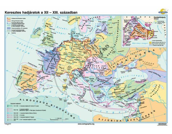 Keresztes hadjáratok a XII-XIII. században