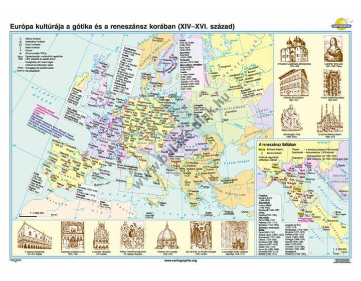 Európa kultúrája a gótika és reneszánsz korában (XIV-XVI. század)