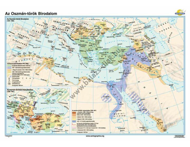 Az Oszmán-török Birodalom (1481-1683)
