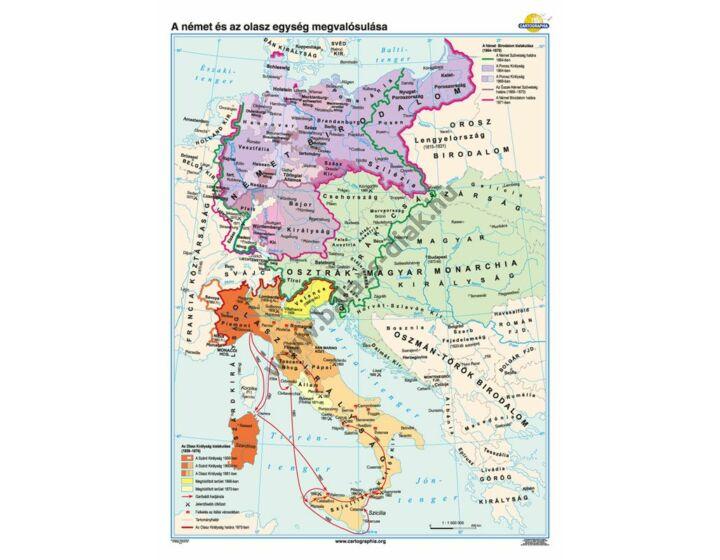 A német és az olasz egység megvalósulása
