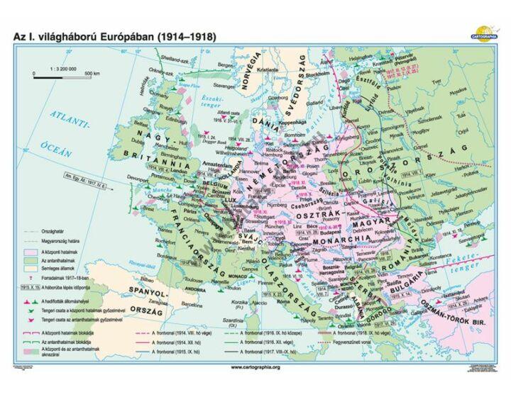 Az I. világháború Európában (1914-1918)