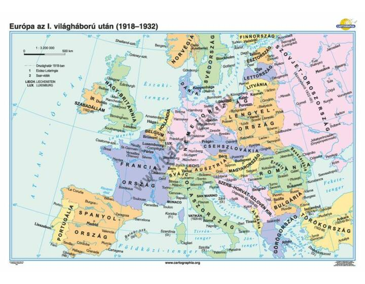 Európa az I. világháború után (1918-1932)