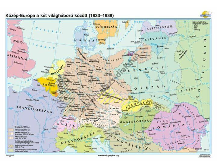 Közép-Európa a két világháború között (1921-1939)