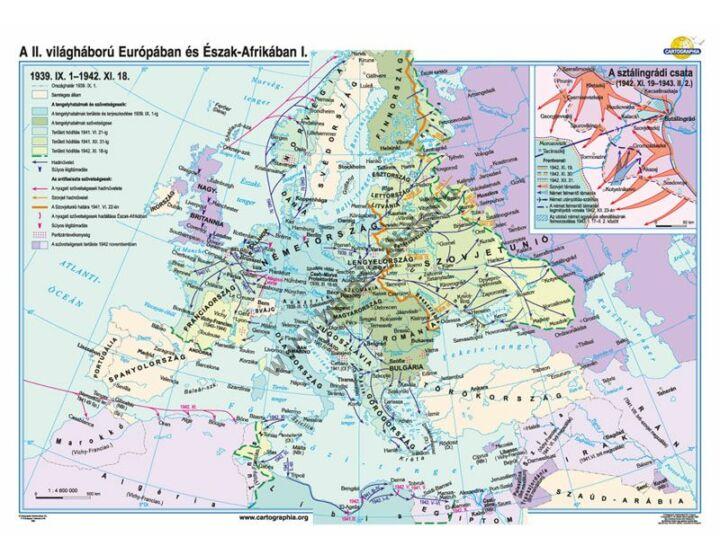 A II. világháború Európában és Észak-Afrikában (1939.IX.1-1942.XI.18.)