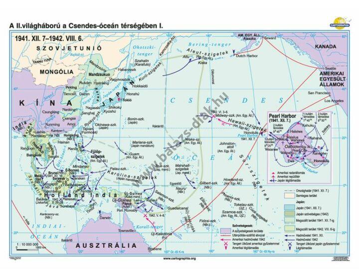A II. világháború a Csendes-óceán térségében (1941.XII.7-1942.VIII.6)