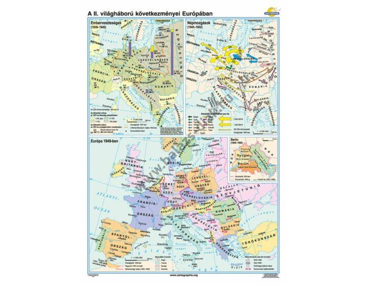 A II. világháború következményei Európában