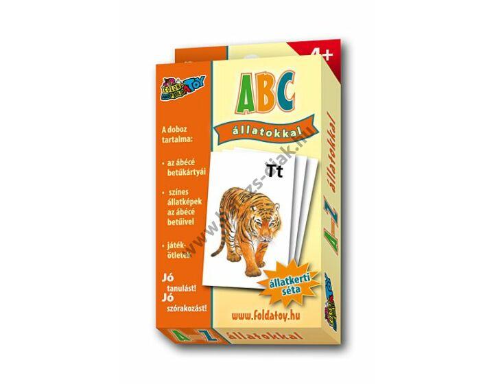 ABC kártya magyar, állatos Tigris